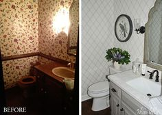 Dear Lillie: Some Finishing Touches to Our Powder Room and Hand Carved Measuring Spoons