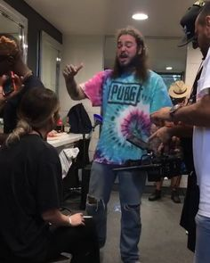 Post Malone singing my band. When did I die and go to heaven