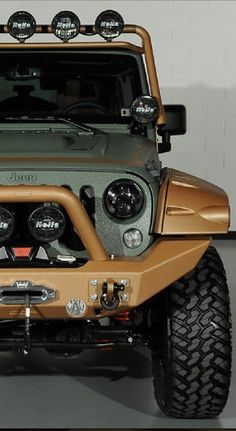 Check out this awesome 'Bad Boy' Kevlar Jeep perfect for #WildWednesday. Click the image to reveal more