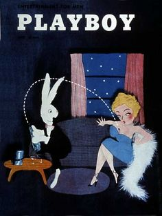 Playboy magazine cover June 1954