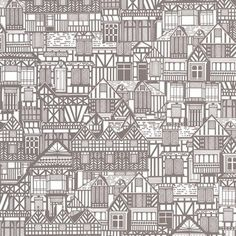 Graham & Brown Tudor Homes Wallpaper | 2Modern Furniture & Lighting $70.00 396x20 inches