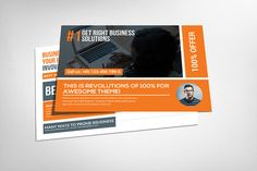 Marketing Corporate Business Postcards | Pinterest | Business ...