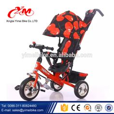 2016 Beautiful Metal Tricycles for Toddlers, Baby Trike, Kid Tricycle EVA tyre #Beauty_By, #Carli