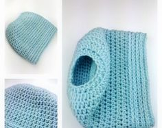 Messy Bun Hat CROCHET PATTERN Pattern for by MadeWithATwist