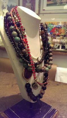 Handmade necklace @il sacco arte