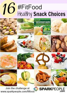 Add a little pizzazz to your usual snacks with these healthy midday munching ideas! | via @SparkPeople #FitFood #recipe #food #snacking