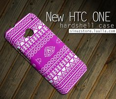 Geometric Aztec Htc One Case