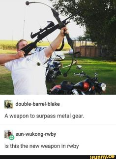 Is this a new weapon in RWBY? Probably.