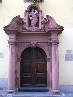 Boppard Germany Door.
