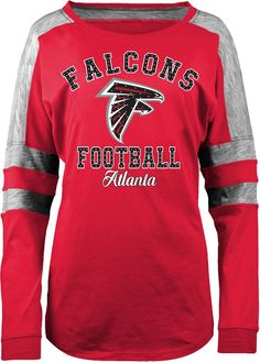 d48c1ed6 5th & Ocean Women's Atlanta Boyfriend Red Long Sleeve Shirt, Size:  Medium,
