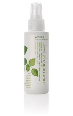 Black Friday Acure Organics, Leave-In Conditioner, Argan Oil   Argan Stem Cell, 4 fl oz from Acure Organics