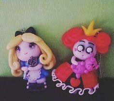 Alice in Wonderland fino dolls