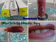 Découvrez vite mon avis sur les Ultra Satin Lip de ColourPop, les meilleurs rouges à lèvres liquides que je connaisse !