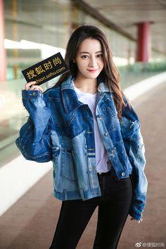 Korean Girl Fashion, Ulzzang Fashion, Young Fashion, Ulzzang Girl, Ideal Girl, Asian Cute, China Girl, Chinese Actress, Beautiful Asian Women