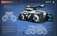 ArtStation - BattleTank, Exidium Corp