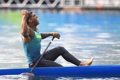 Na história!  Isaquias Queiroz leva também o bronze tornando-se o quinto brasileiro a conquistar duas medalhas durante o maior evento esportivo do mundo! Parabéns Isaquias! Parabéns Brasil!  #FhitsRio #canoagem