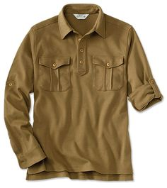 Just found this Safari Interlock Pullover Shirt For Men - Safari Interlock Pullover -- Orvis on Orvis.com!