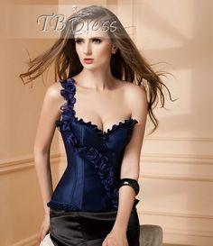 7fa3f49e793 Wholesale Latest Style Sexy Corset Blue Corset