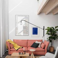 It's Friday!  Luz natural, sofá Mariposa de #BarberAndOsgerby, Lámpara Potence de #JeanProuvé y alfombra Natural de #NaniMarquina! Se nota que ya se asoma el fin de semana! Relax y comodidad en la casa de Petrus Palmér, cofundador del estudio #FormUsWithLove.  · · · #DomésticoShop #design #interiordesign #love #pursuepretty #interiorarchitecture #happy #theartofslowliving #vogueliving #seekthesimplicity #homestyle #darlingmovement #cute #theartofrefinedliving #inspiremyinstagram…