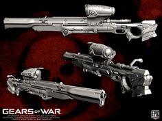 Gears of War COG Longshot by YemYam