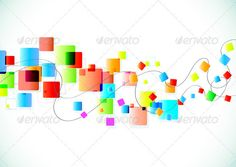 Abstract Background  #GraphicRiver         Vector illustration of abstract party Background with funky colorful square blocks.  	 Zip file contains fully editable EPS8 vector file and high resolution RGB Jpeg image.     Created: 13February13 GraphicsFilesIncluded: JPGImage #VectorEPS Layered: No MinimumAdobeCSVersion: CS Tags: abstract #art #backdrop #background #bright #color #colored #concept #cool #curve #decoration #design #elegance #element #fashion #funky #geometric #graphic…