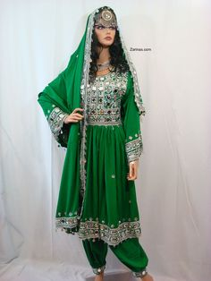 Com: Afghan Dresses (Fancy Party Dresses) Afghan Clothes, Afghan Dresses, Afghan Wedding Dress, Wedding Dresses, Afghan Girl, Rajputi Dress, Islamic Clothing, Ethnic Fashion, The Dress