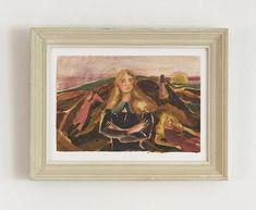 Rebecca Harper 2020 – hellethygesen.com Peter Doig, Anima Mundi, Drawing School, Financial Times, Windsor Castle, Art School, Watercolor Paper, Bristol, Fine Art