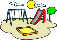 play park clipart playground clipart swings ride clp art only for rh pinterest com park clipart black and white park clipart png