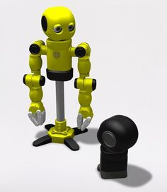 Make MAKI! Your Personal Humanoid Robot From 3D-printed Parts (+VIDEO)