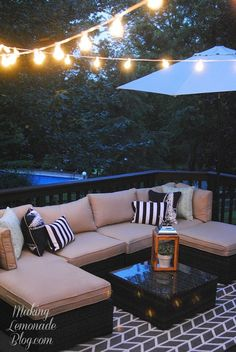 How to Hang Outdoor String Lights for a Magical Glow!   Hometalk
