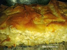 Betty's Cuisine: Τυρόπιτα αφράτη Greek Cooking, Cooking Time, Cooking Recipes, Crockpot, Greek Pastries, Greek Dishes, Sandwiches, Chicken Parmesan Recipes, Greek Recipes