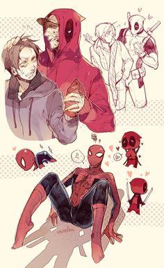 Spiderman x Deadpool #Spiderpool