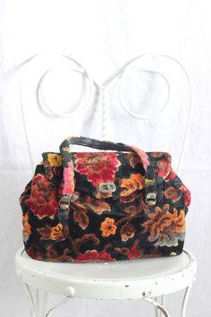 Floral Carpet Bag