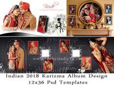 2018 Latest Psd Wedding Photo Album Design 12x36 Templates By