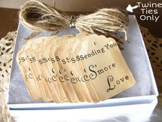 Hey, I found this really awesome Etsy listing at https://www.etsy.com/listing/179460915/50-300-twine-jute-ties-only-for-my