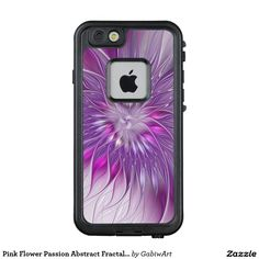 Pink Flower Passion Abstract Fractal Art LifeProof® FRĒ® iPhone 6/6s Case