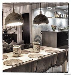 DIY betonivalaisimet; puuhastelua pienellä vaivannäöllä ja edullisesti. #styleroom #kattovalaisin #diy #kitchen #inspiroivakoti #betoni Täällä asuu: suvituominiemi