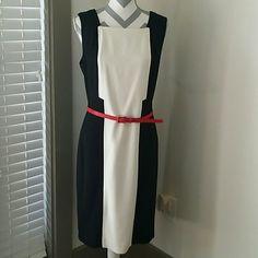 Saks Sleeveless Dress Saks Black Label Dress. Never worn. NWT Dresses