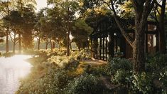 ArtStation - Relaxing Shed in the woods, Konstantinos Anninos