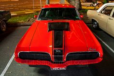 68' Cougar. No that frontend is a 70' Cougar:-)