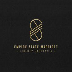 Empire State Marriott logo concept design by Ruby Engen  rubyengen.com