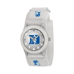 Game Time Rookie Series Duke Blue Devils Silver Tone Watch - COL-ROW-DUK - Kids Lebro James, Browns Fans, Duke Blue Devils, Cleveland Browns, Fan Gear, The Row, Unisex, Watches, Silver