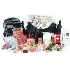Legacy Premium 2 Person Deluxe Urban Emergency Tactical Survival Kit SK0206