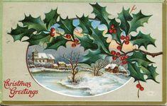 Vintage Christmas Postcard c 1910