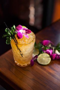 Mai Tai by Julie Reiner | Done right, a proper mai tai is a thing of beauty. Honolulu native Julie Reiner makes the classic version, sparkling with fresh lime juice, several types of rum, toasted orgeat, and a splash of orange liqueur.
