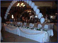 Decorations  Décoration de table de mariage turquoise – chocolat ...