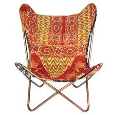 silla butterfly vintage butterfly chair  khanta b.k.f