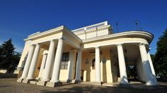 Vorontsov's Palace in Odessa-at the end of the Primorsky Boulevard pedestrian walkway. The palace was built between 1827 and 1830 by Sardinian-born architect Francesco Boffo for Prince Mikhail Semyonovich Vorontsov, one of the governor-generals of the Novorossia region of Russia