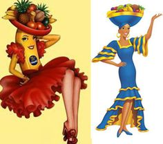 Born in 1944, Miss Chiquita was sometimes a lady, sometimes an actual fruit, as seen in this Disney commercial. Her jingle is awesome, even if she was pretty much just a Carmen Miranda rip off.