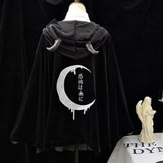 a18f4c00537 Black Gothic Witch Hoodie Coat S12945 Aesthetic Clothes